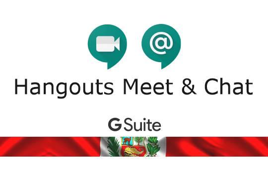 Hangouts Google Videoconferencias y Chat Peru