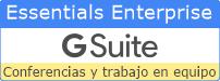 G Suite Essentiasl Enterprise Perú - Videoconferencias y trabajo en equipo