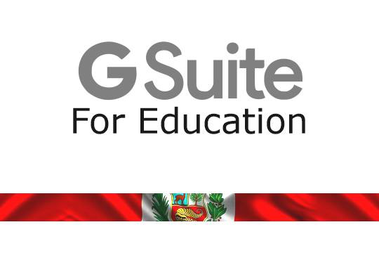 G Suite for Education Peru Google