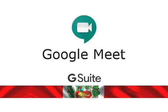 Reuniones, clases, seminarios en línea con sonido y video con Google Meet
