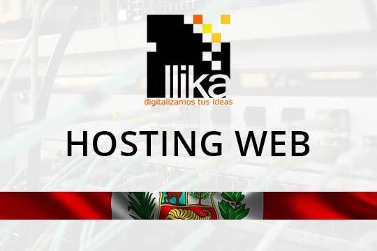Hosting Web - Cusco Perú