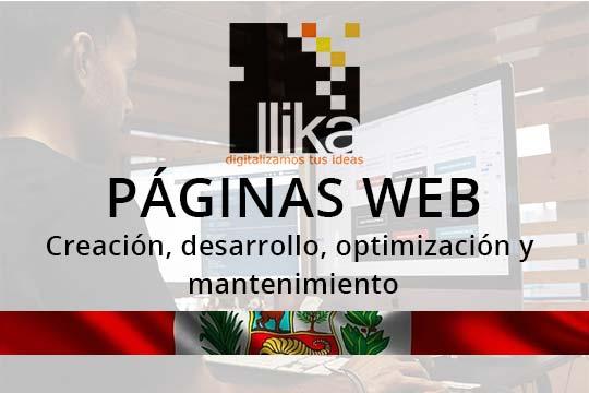Diseño y desarrollo de páginas web para empresas y agencias de viaje en Cusco y Peru