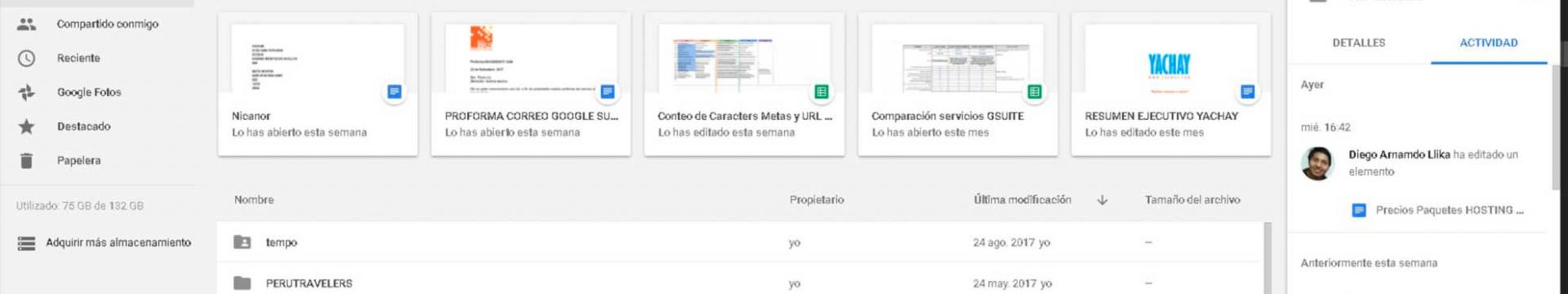Google Drive Perú